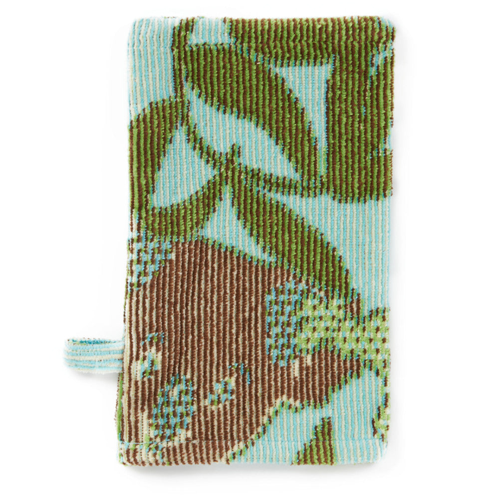 Baby Washcloth, The Outback Collection Sea Blue Koala - Breganwood Organics - 2