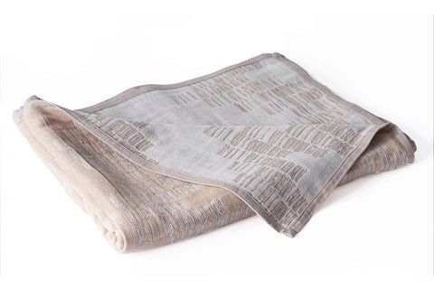 Cotton Throw/Blankets made with organically grown cotton Shoreline Fawn