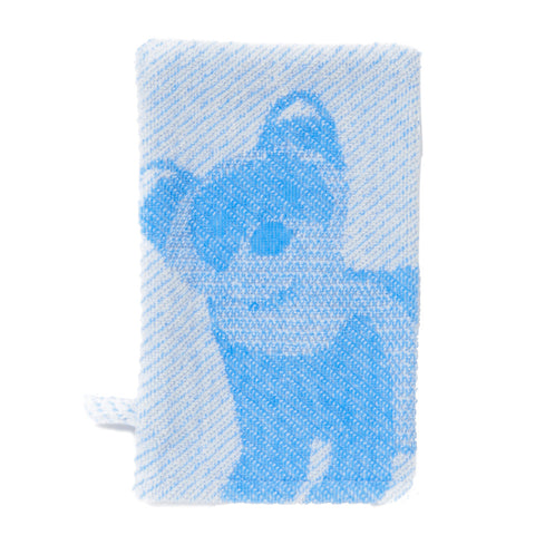 Wash Mitt: Prairie Collection Ferrets -Cool Blue