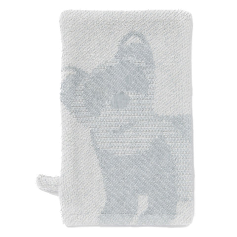 Wash Mitt: Prairie Collection Ferrets -Soft Grey