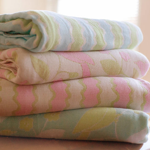 Cotton Throw/Blankets made with organically grown cotton all