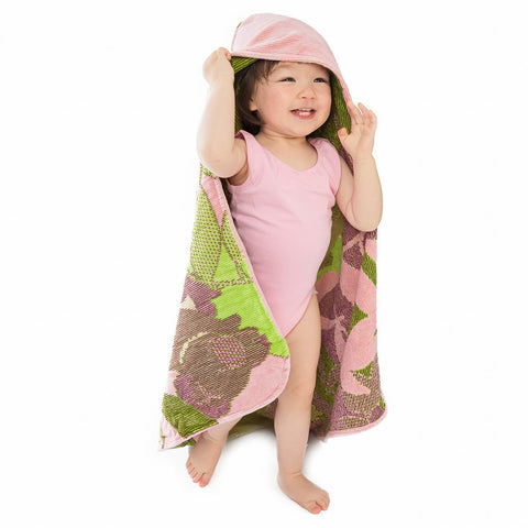 Baby & Toddler Hooded Towel: Outback Collection Koalas -Pale Rose
