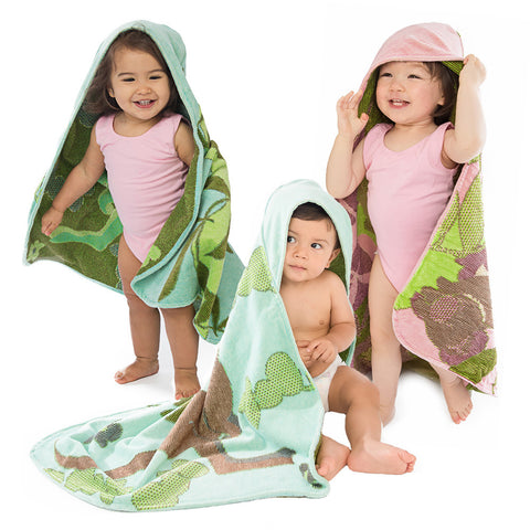 Baby & Toddler Hooded Towel: Outback Collection - Breganwood Organics - 5