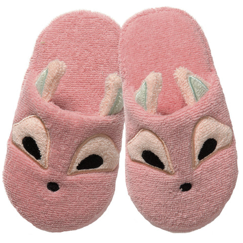 Non-Slip Slippers: Woodland Collection -Playful Fox