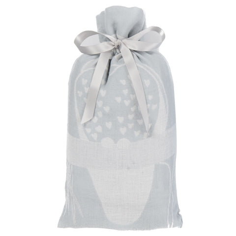 Muslin Swaddle Set, The Prairie Collection Grey Owl - Breganwood Organics - 3