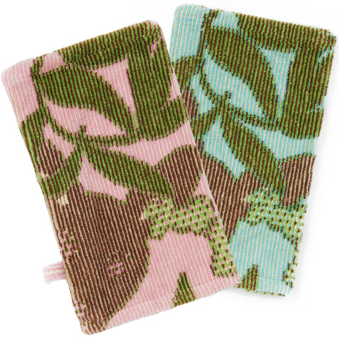 Wash Mitt, The Outback Collection Kangaroos - Breganwood Organics - 1