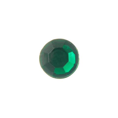 11MM (SS48) Acrylic Rhinestone-Emerald (144 Pieces)
