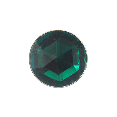 13MM Acrylic Rhinestone-Emerald (144 Pieces)