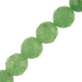 "12mm Round Faceted Aventurine (16"" Strand)"