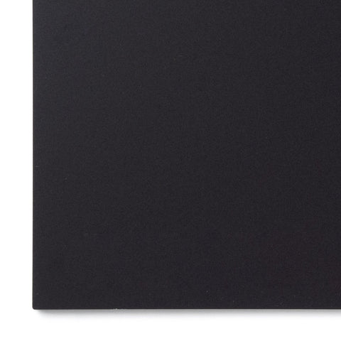 Acrylic Sheet, Opaque Matte Black P95 (#2025 Matte)