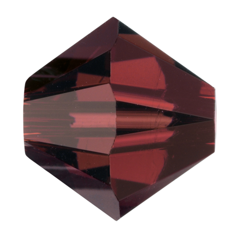 Swarovski #5328 5mm Bicone Bead-Burgundy (72 Pieces)