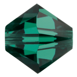 Swarovski #5328 Bicone Bead-Choose Size (Emerald)