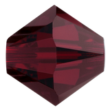 Swarovski #5328 Bicone Bead-Choose Size (Garnet)