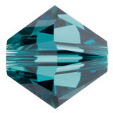 Swarovski #5328 5mm Bicone Bead-Indicolite (72 Pieces)