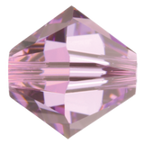 Swarovski #5328 Bicone Bead-Choose Size (Light Amethyst)