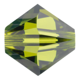 Swarovski #5328 4mm Bicone Bead-Olivine (144 Pieces)
