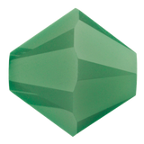 Swarovski #5328 Bicone Bead-Choose Size (Palace Green Opal)