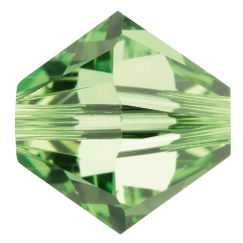 Swarovski #5328 4mm Bicone Bead-Peridot (144 Pieces)