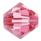 Swarovski #5328 Bicone Bead-Choose Size (Rose)