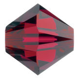 Swarovski #5328 Bicone Bead-Choose Size (Ruby)