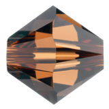 Swarovski #5328 3mm Bicone Bead-Smoked Topaz (144 Pieces)