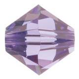 Swarovski #5328 5mm Bicone Bead-Tanzanite (72 Pieces)