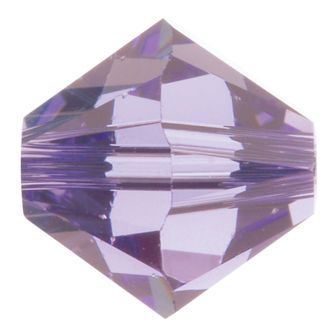 Swarovski #5328 6mm Bicone Bead-Tanzanite (72 Pieces)
