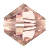 Swarovski #5328 Bicone Bead-Choose Size (Vintage Rose)