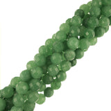 "8mm Round Faceted Aventurine (16"" Strand)"