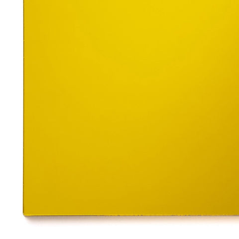 Acrylic Sheet, Mirror Yellow