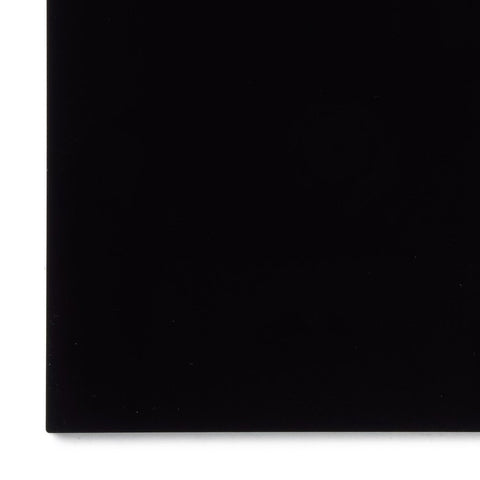 Acrylic Sheet, Opaque Black (#2025)