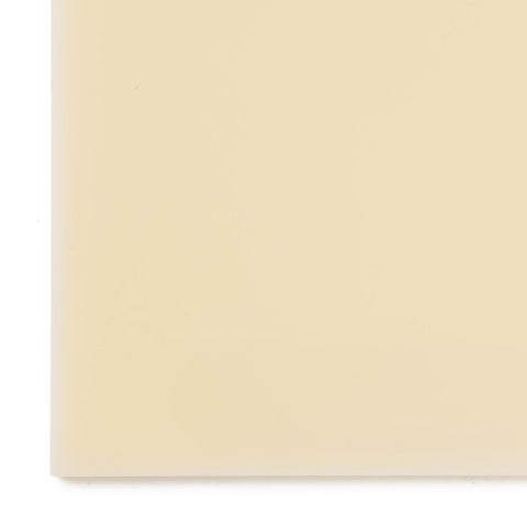 Acrylic Sheet, Opaque Ivory (#2146)