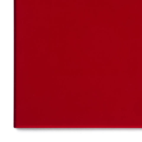 Acrylic Sheet, Transparent Dark Red (#2423)