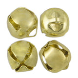 16mm (5/8in) Jingle Bells (Gold) (72 Pieces)