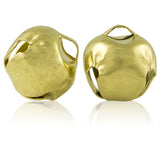 25mm (1in) Jingle Bells (Gold) (24 Pieces)