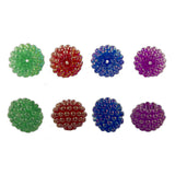 Large Berry Beads, Multi Colors (144 Pieces)