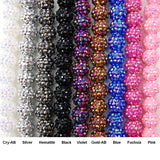 16MM Acrylic Rhinestone Ball (Pink)