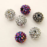 14MM Acrylic Rhinestone Ball-Choose Color (18 Pieces)
