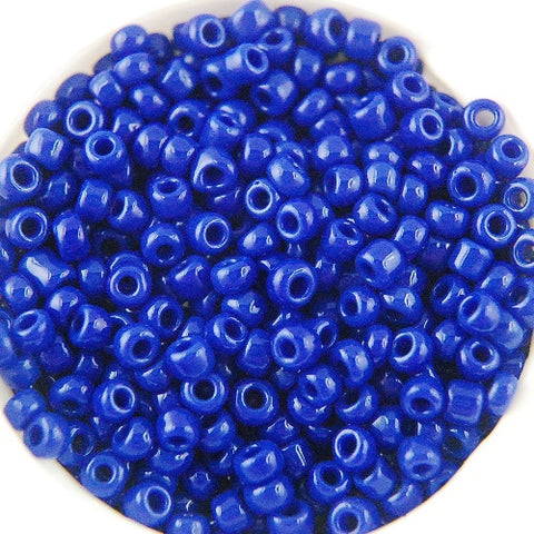 Round Seed Beads, Glass, Size 10/0 (Choose Color) (Approx. 1 LB)