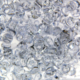 Tr. Crystal - Tri Beads Transparent Colors  (600 Pieces)