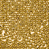 3mm Smooth Round MetalBeads-Gold (500 pieces)