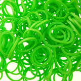 Rubber Loom Bands (Lime Green) (600 Pieces)