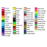 Pony Beads, 9x6mm, Neon (Choose Color) (650 Pieces)