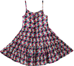 Girls Dress Smocked Brown Beach Sundress Elegant Party Kids Clothes Size 2-5 Years