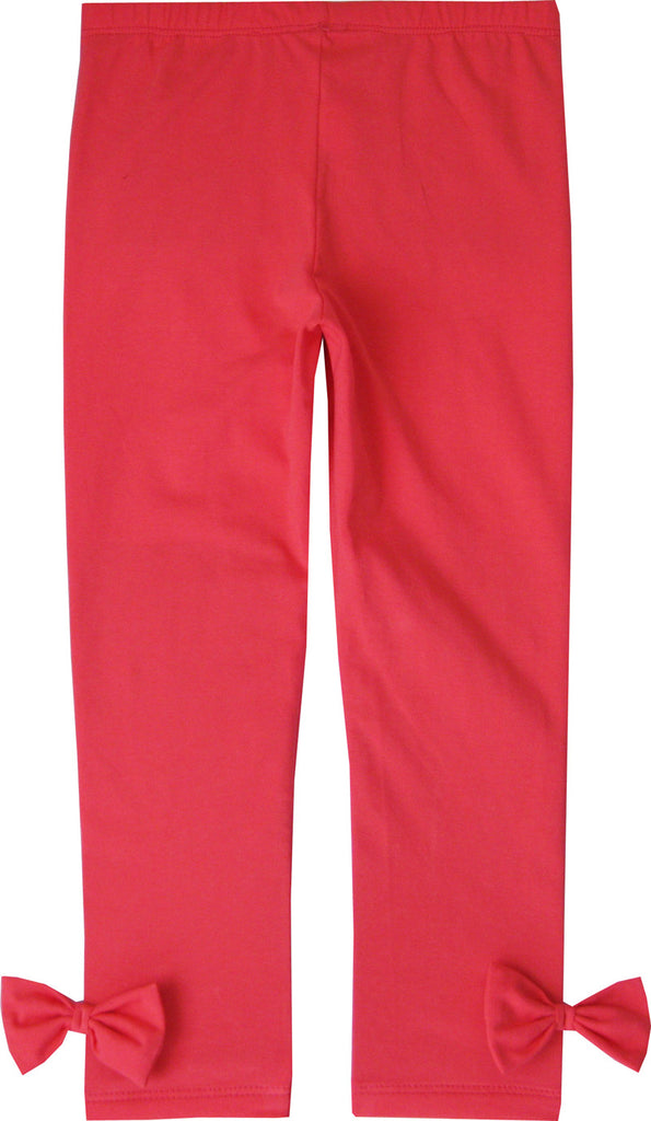 Girls Pants Pink Legging Butterfly Trousers Children Clothes Size 2-10 Years