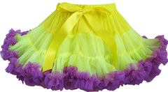 Girls Dress Tutu Dancing Skirt Blue Party Purple Pleated Size 2-10 Years