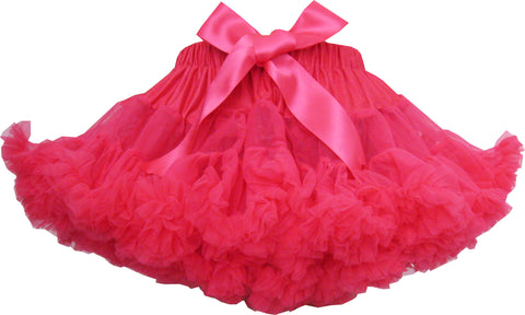 Girls Dress Tutu Dancing Skirt Party Pageant Hot Pink Size 2-10 Years