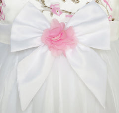 Flower Girls Dress Butterfly Wedding Pageant Bridesmaid Size 4-10 Years