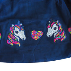Girls Skirt Unicorn Horse Sequins Sparkling Tutu Dancing Size 2-8 Years