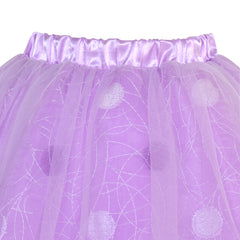 Girls Skirt Purple Dot Tutu Dance Ballet Size 4-10 Years
